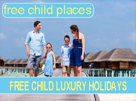 luxury holidays free child places and child reductions